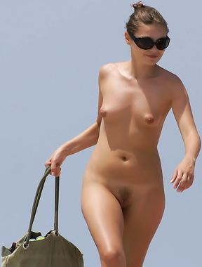 a few shots from the girl who was in front of me in my favourite nudist beach.
