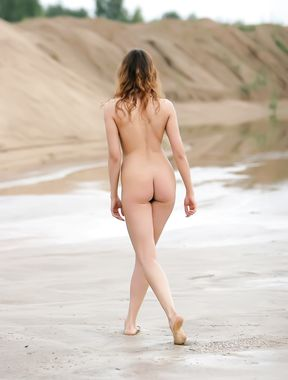 Fun on the nude beach