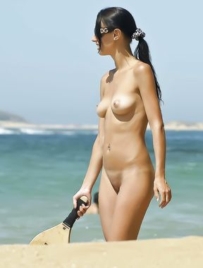 Beautiful on Nudist Beach 01