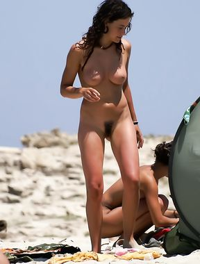 Canary Islands Nude Beach Beauty