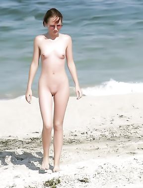 All Kinds of Fun on the Nude Beach