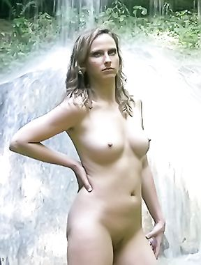 Nudes At A Waterfall