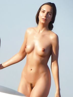 Erected Nipples Un Nudist Beach